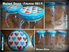 Resultado de imagen para frascos de compotas decorados para fiestas infantiles