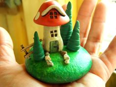 Hey, I found this really awesome Etsy listing at http://www.etsy.com/listing/150949277/tiny-gnome-or-fairy-mushroom-house-with