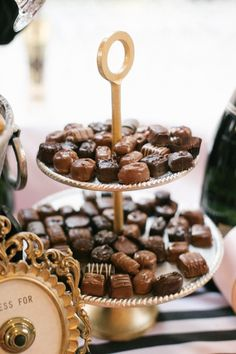 Don't forget chocolates for your bubbly bar