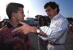Pedro Lamy , Ayrton Senna  1993