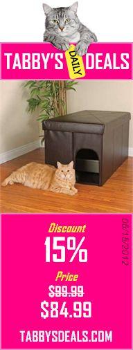 KattySaks   The Kitty Litter Box Cover   Le Dresser: Amazon.com: Pet  Supplies   DIY   Pinterest   Litter Box Covers, Kitty Litter Boxes And Litter  Box