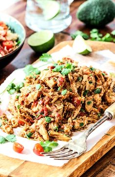 Low FODMAP Recipe and Gluten Free Recipe - Pulled chicken and salsa wrap http://www.ibs-health.com/low_fodmap_pulled_chicken_salsa_wrap.html