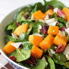 The Little Epicurean | Autumn Butternut Squash Salad