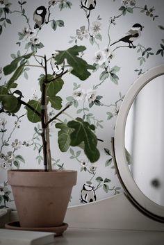 Shop the look: slaapkamer met vogeltjesbehang - Roomed