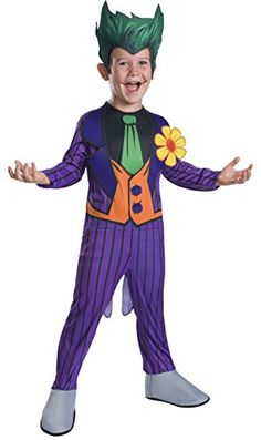 Dc Comics Joker Medium Kinder Halloween Kostüm - New Ideas - Zapato Kids Joker Costume, Halloween Kostüm Joker, Joker Halloween Costume, Boy Costumes, Halloween Costumes For Kids, Group Halloween, Halloween Parties, Link Halloween, Halloween College