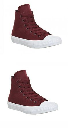 Converse Men s Chuck Taylor II All Star High Top Shoes Deep Bordeaux 150144C f45b7cd77