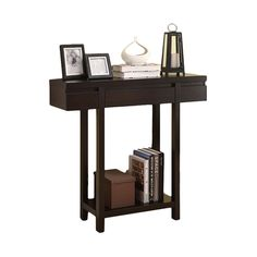 Entry Hall Table in Cappuccino