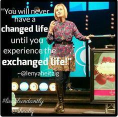 Lenya Heitzig @ Live Abundantly Bible Study.