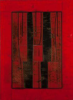 "Salphinx  Acrylic on Panel  56 x 76"" SOLD"