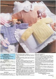 129 meilleures images du tableau tricot   Baby knitting, Crochet ... 7bdc799fe0c