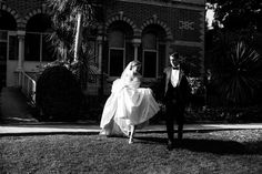 Love this shot of this newlywed couple at their garden estate wedding!   Julia Archibald Wedding Photography