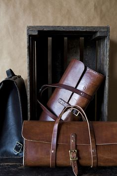 Etwas Leather Bag | by Nicole Franzen Photography-SR