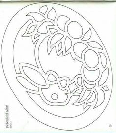 Kirigami, Easter Colouring, Colouring Pages, Egg Crafts, Easter Crafts, Paper Cutting Patterns, Carved Eggs, Scroll Saw Patterns, Art Plastique