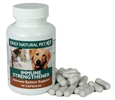 A holistic blend of natural vitamins, herbs, and other co-factors to provide immune system support to dogs and cats.