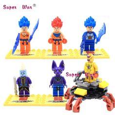 60pcs starwars super heroes Dragon Ball Z Son Goku Series building blocks action  bricks hobby interesting toys for kids #Affiliate