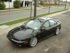 1999 Saturn SL2 - dropped 2 inches and 18s, what was I thinking? It was rad anyway