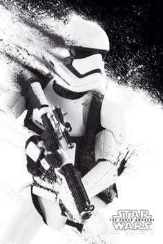 Star Wars- Stormtrooper Paint Kunstdrucke bei AllPosters.de