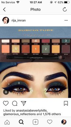 Anastasia Beverly Hills Subculture Palette Eye Look