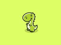 Cute dino by Daniel Bodea Cute Illustration, Character Illustration, Dinosaur Wallpaper, Dinosaur Tattoos, Cartoon Monsters, Animal Art Projects, Kawaii Doodles, Cute Dinosaur, Animal Logo