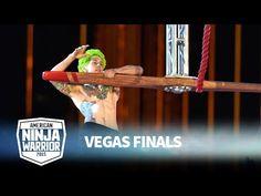 Jamie Rahn at the Vegas Finals | American Ninja Warrior - YouTube