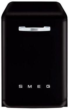 Smeg DF6FAB 1 dishwashers full size in Black