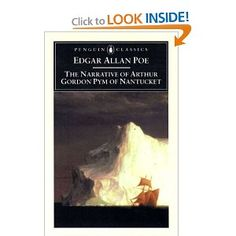 The Narrative of Arthur Gordon Pym of Nantucket (Penguin Classics): Edgar Allan Poe: 9780140437485: Amazon.com: Books
