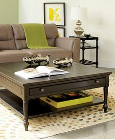 Sag Harbor Table Collection - Coffee, Console & End Tables - furniture - Macy's