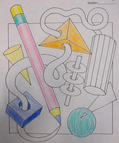 Shading / Form worksheet by shelby