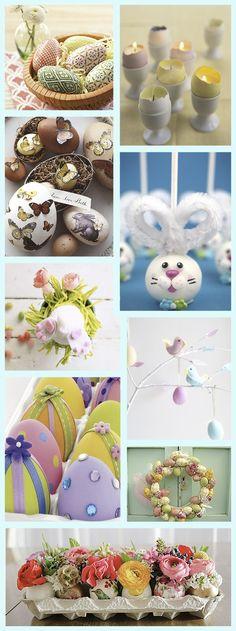 Easter egg DIY decorations