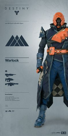 Destiny Warlock RETAIL EXCLUSIVE EDITION! Everything you need to know about Destiny | Warlock pre-order on July 7th:  http://www.worldofthreea.com/threea-production-blog/destinywarlock The Warlock comes in three exclusive editions – each edition comes complete with a Ghost and are outfitted in shaders, armor, vestments, and an array of weaponry curated by ThreeA in collaboration with the development team at Bungie.  #threeA #WorldOf3A #WO3A #Bungie #Destiny #DestinyTheGame #DestinyWarlock