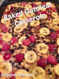 Baked Oatmeal Casserole