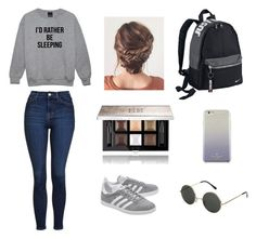 """""""Untitled #43"""" by rebekahdrhodes03 ❤ liked on Polyvore featuring adidas Originals, Topshop, NIKE, Kate Spade and Givenchy"""
