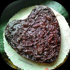 Tarte Sicilienne au cacoa / Torta al cioccolato #vegan #senzaglutine  #BettyAlesi #laveganasiciliana #0-GlutenVegeBrest #tarte #cacao #sicile #Torta #cioccolato #Sicilia