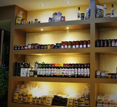 Our Shop - The Ingredients Place Greek Recipes, Fresh Fruit, Liquor Cabinet, Pure Products, Places, Food, Home Decor, Decoration Home, Room Decor