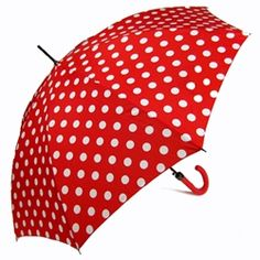 Red & White spot Umbrella http://www.umbrellas.net/p-275-minnies-red-white-polka-dot-umbrella.aspx