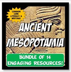 Ancient Mesopotamia Activity and Note Bundle Common Core Grades 5-8. Awesome Bundle tons of content.