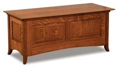 Amish Shaker Hill Blanket Chest