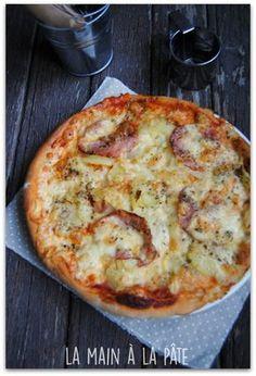 Pizza savoyarde {à base de reblochon} - La main à la pâte