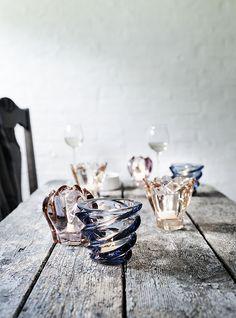 from Danish glassworks Holmegaard.