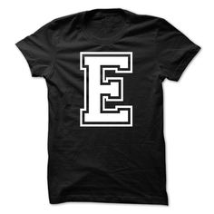 Letter E Tshirt Name Initials ᗔ DesignLetter E Tshirt Name Initials Designname, alphabet, a, b, c, d, e, f, g, h, i, j, k, l, m, n, o, p, q, r, s, t, u, v, w, x, y, z, birthday, gift, love, smile, happy, tee, family, awesome