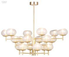 Murano glass chandelier Renaldo Collection by Donghia Boho Lighting, Interior Lighting, Modern Lighting, Lighting Design, Chandelier Pendant Lights, Pendant Lamp, Chandeliers, Light In, Lamp Light