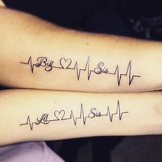 sisters lifeline tattoo-5