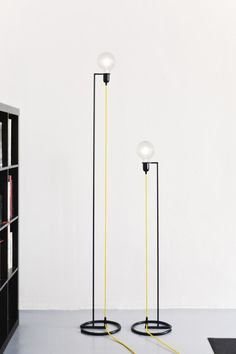 LED iron floor lamp VORTEX - @bigdesignstudio                                                                                                                                                                                 More