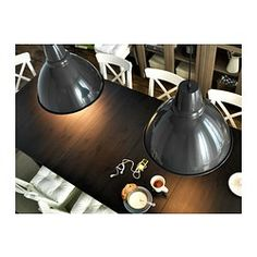 IKEA - FOTO, Pendant lamp, , Gives a directed light. Good for lighting dining tables or a bar area.