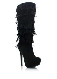 #Stunning Women Shoes #Shoes Addict #Beautiful High Heels #Wonderful Shoes #Shoe Porn  fringe boots