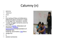 calumny meaning #gre #cat #vocabulary