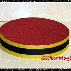 Red stand - red, yellow and black - lollipops or cakepops stand