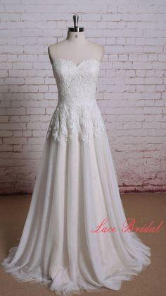 Hochzeitskleid/Brautkleid Sweetheart Halsausschnitt von LaceBridal