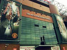 Sir Alex Ferguson stand - Old Trafford Sir Alex Ferguson Stand, Old Trafford, The Godfather, Cathedrals, Manchester United, The Unit, Football, Sports, Legends