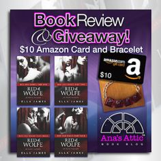 Red & Wolfe 1-4 by Ella James Completed Erotic Serial I'm not normally a fan of serials, but this one by Ella James intrigued me. Only 4 parts which are all out, I figured, why not? Little Red Riding Hood was a favorite of mine growing up…perhaps I wanted to meet the big bad wolf! …